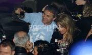 Γιώργος Νταλάρας: Σπάνια νυχτερινή έξοδος με την γυναίκα του!