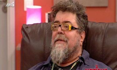 Σταμάτης Κραουνάκης: «Είμαι 58 χρονών. Δουλεύει το αμορτισέρ»
