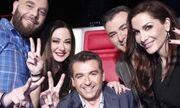 H selfie φωτογραφία του The Voice!