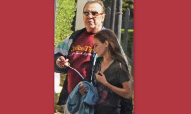 Τόλης Βοσκόπουλος: Μαζί με την κόρη του σε εξωσχολικές δραστηριότητες!