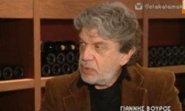 """Γιάννης Βούρος: «Επίτηδες έχω βάλει ανοιχτή ακρόαση για να ακούσουν και το αίτημα και το """"όχι"""" μου»"""