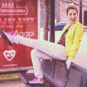 Μαρία Ηλιάκη: Άβαφη στη στάση του λεωφορείου!