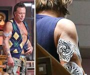 Μίκι Ρουρκ: Τα νέα του τατουάζ
