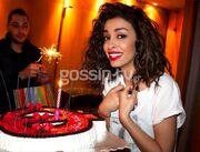 Ελένη Φουρέιρα: Η τούρτα- έκπληξη στο καμαρίνι για τα γενέθλιά της