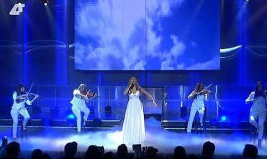 Eurovision 2014: Κρυσταλλία: Στα λευκά και με αρχαιοελληνικό στυλ