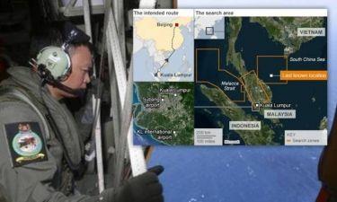 Μαλαισία: Μυστήριο και χάος γύρω από τον εντοπισμό του αεροπλάνου (pic)