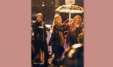 Η Ελένη, ο Ματέο και η κυρία με την ομπρέλα!