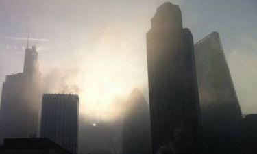 Η ομίχλη «έκρυψε» τη Βρετανία (pics)