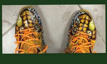 Τα πρωτότυπα παπούτσια του…