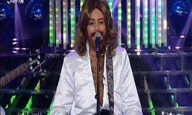 Μπέτυ Μαγγίρα: Ως Bee Gees στο δεύτερο live του «Your face sounds familiar»