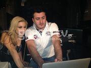 Στα backstage του νέου video clip της Καρλάκη