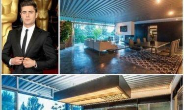 Ο Zac Efron πουλά το πολυτελές σπίτι του. Θέλετε να πάρετε...μάτι;