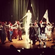 Η συγκίνηση της Μαρίας Μπακοδήμου στη σχολική γιορτή του γιου της