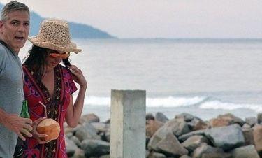 Κλούνεϊ-Αλαμουντίν: Αχώριστοι και στις Σεϋχέλες