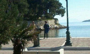 Παπαράτσι: Ο Γιώργος Μαζωνάκης με liar jet στη Σκιάθο και ο έλεγχος! (Nassos blog)