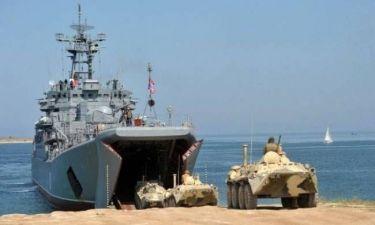 Κριμαία: Ρωσική επίθεση σε ουκρανικό αποβατικό