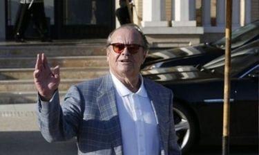 Jack Nicholson: Είναι κεφάτος, γυρίζει από τα… ψώνια του