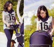Μαριάντα Πιερίδη: Πρώτη βόλτα με τον νεογέννητο γιο της