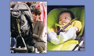 Halle Berry: Οι πρώτες φωτογραφίες με τον γιο της