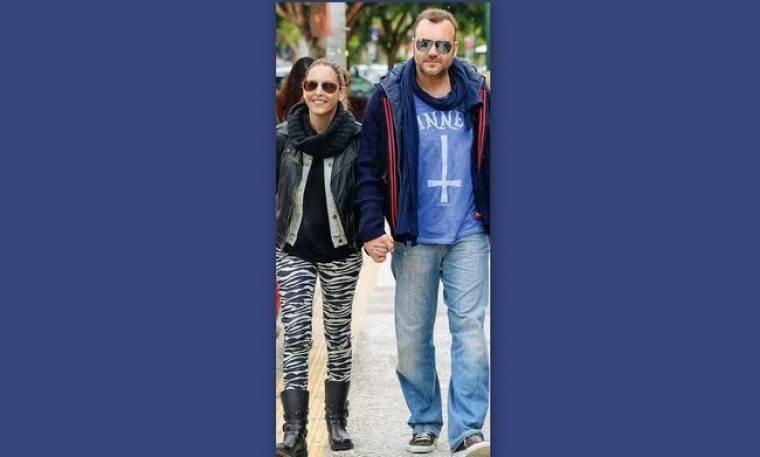 Τόνυ Δημητρίου: Στην Γλυφάδα με την σύζυγό του
