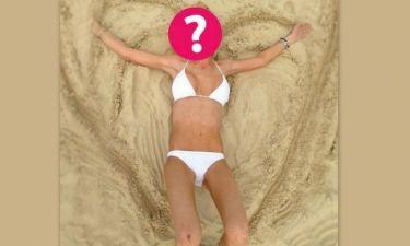 Υπερβολικά αδύνατη μέσα στο λευκό της μπικίνι: Ποια star δε λέει να πάρει με τίποτα βάρος;