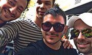 Καλίδης-Σαμπάνης-Βρεττός-Stan: Coffee time για την αντροπαρέα!