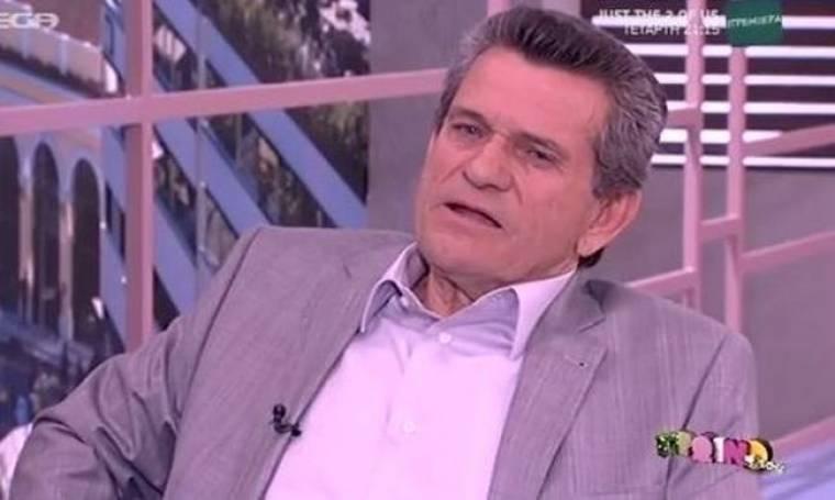 Γιώργος Μαργαρίτης: «Δεν μένω στο σπίτι μου, μόνο κοιμάμαι εκεί»