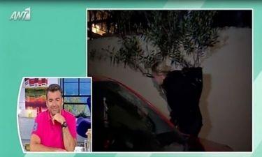 Έξαλλη η Ζέτα Μακρυπούλια με ερώτηση δημοσιογράφου – Αποχώρησε από τη συνέντευξη