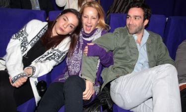 Μια σπάνια οικογενειακή φωτογραφία. Η Ζένια, η Μάρθα και ο Ανδρέας