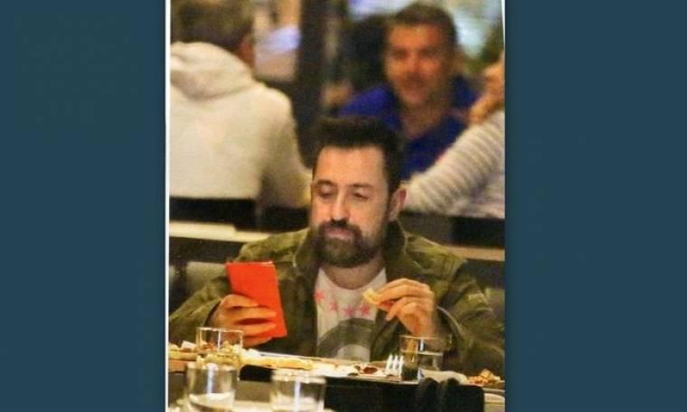 Θέμης Γεωργαντάς: Δεν αφήνει το κινητό ούτε όταν τρώει
