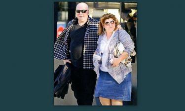 Γιώργος Παπαδάκης: Σε μια σπάνια εμφάνιση με την σύζυγό του