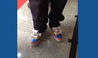 Madwalk 2014: Ποιος εμφανίστηκε  με αυτά τα παπούτσια;