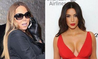Mariah Carey-Kim Kardashian: Άρχισε ο «υπόγειος» πόλεμος!