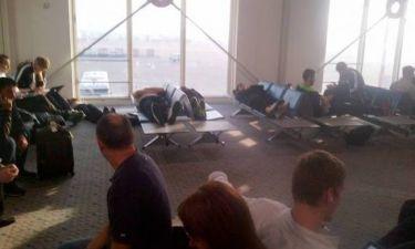 Μάλαγα: «Κατάληψη» στο αεροδρόμιο (photos)