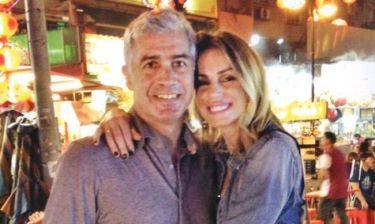 Αντώνης Νικοπολίδης: Με την σύζυγό του στην Μαλαισία