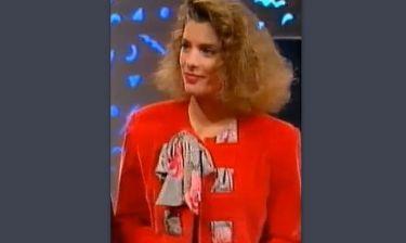 Flashback: Η Ελένη Μενεγάκη πριν 22 χρόνια στο Mega