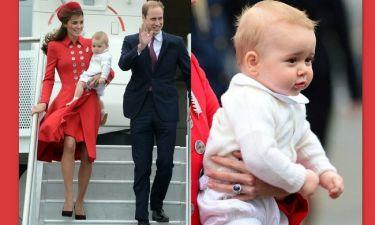 Middleton -πρίγκιπας William: Ο οκτώ μηνών γιος τους «έκλεψε την παράσταση» (φωτό)