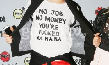 Η μπλούζα και το… μήνυμα που προκάλεσε σχόλια!