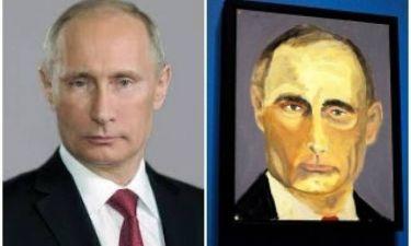 Το μεγάλο ψέμα του Τζορτζ Μπους για τους πίνακές του