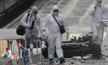 Εικόνες καταστροφής από την έκρηξη «στην καρδιά» της Αθήνας