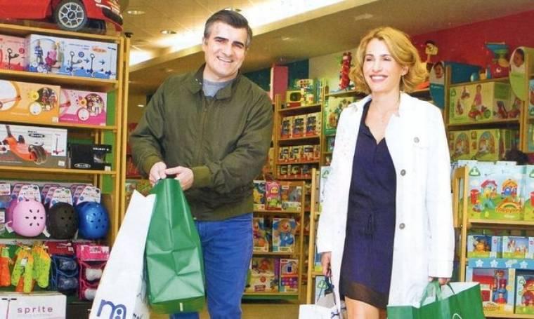 Μπότση-Σταματόπουλος: Τα ψώνια τους για τα… βαφτιστήρια