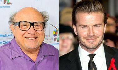 Danny DeVito για David Beckham: «Έχει τέλειο κ@λο. Να μην φοράει εσώρουχα»