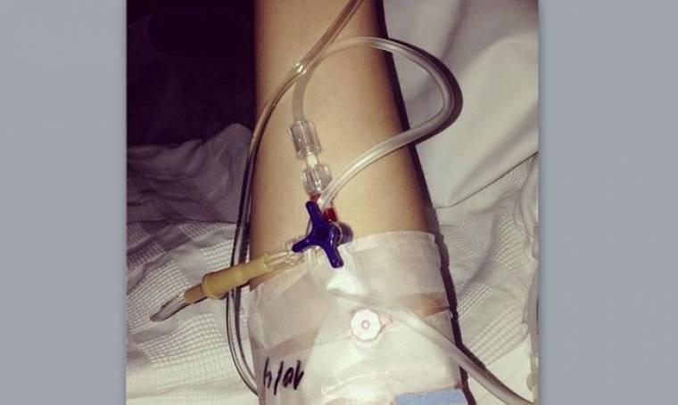 Στο νοσοκομείο η γυναίκα γνωστού Έλληνα τραγουδιστή
