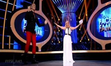 YFSF: Η εντυπωσιακή Μαρία Μπεκατώρου και η καλησπέρα του Ζαχαράτου δίπλα στην παρουσιάστρια