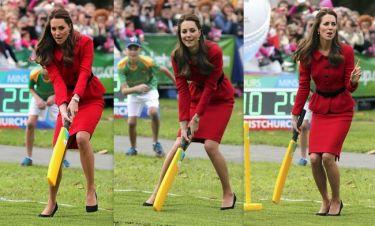 Απολαυστικό βίντεο: Kate Middleton: Παραλίγο να χτυπήσει στο δόξα πατρί τον William!