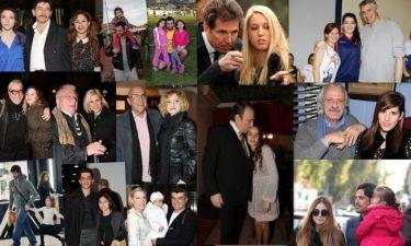 Celebrity μπαμπάδες με τις πριγκίπισσές τους!