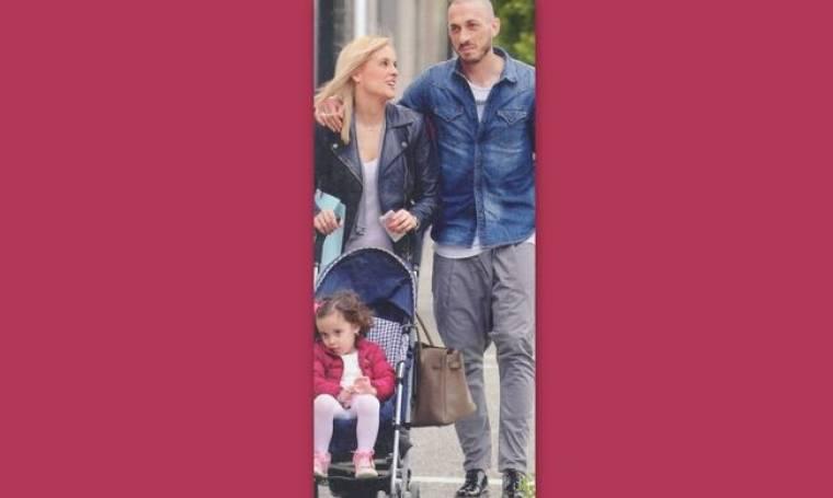 Ασημακοπούλου – Τσιρίλο: Γεύμα με την κόρη τους στο εστιατόριο του Σκαρμούτσου!