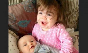Συγκινητικό: Ένα κοριτσάκι 2 ετών θα σωθεί από τον 10 μηνών αδελφό της