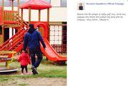Δείτε την τρυφερή φωτό που «ανέβασε» η Κατερίνα Καραβάτου με τον Κρατερό Κατσούλη και την κόρη τους