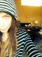 Άννα Βίσση: Χωρίς ίχνος μακιγιάζ αυτοφωτογραφήθηκε! (φωτό)